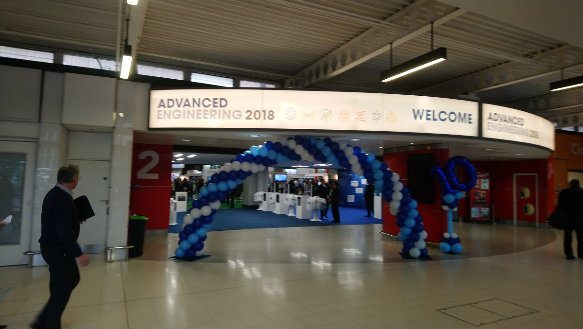MTI attend the Advanced Engineering Show 2018