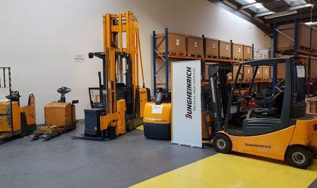 Jungheinrich apprentice benefits from FLT apprenticeship