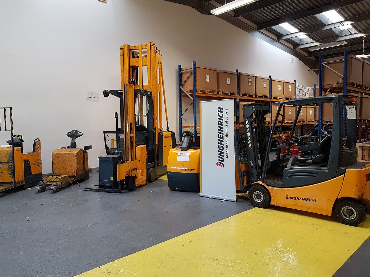 Fork lift truck apprenticeship