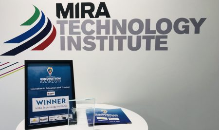 MIRA Technology Institute wins award for innovation
