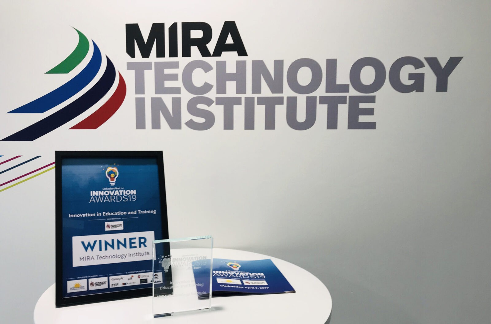 MTI wins award for innovation