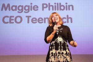 Maggie Philbin, TeenTech Event at MTI