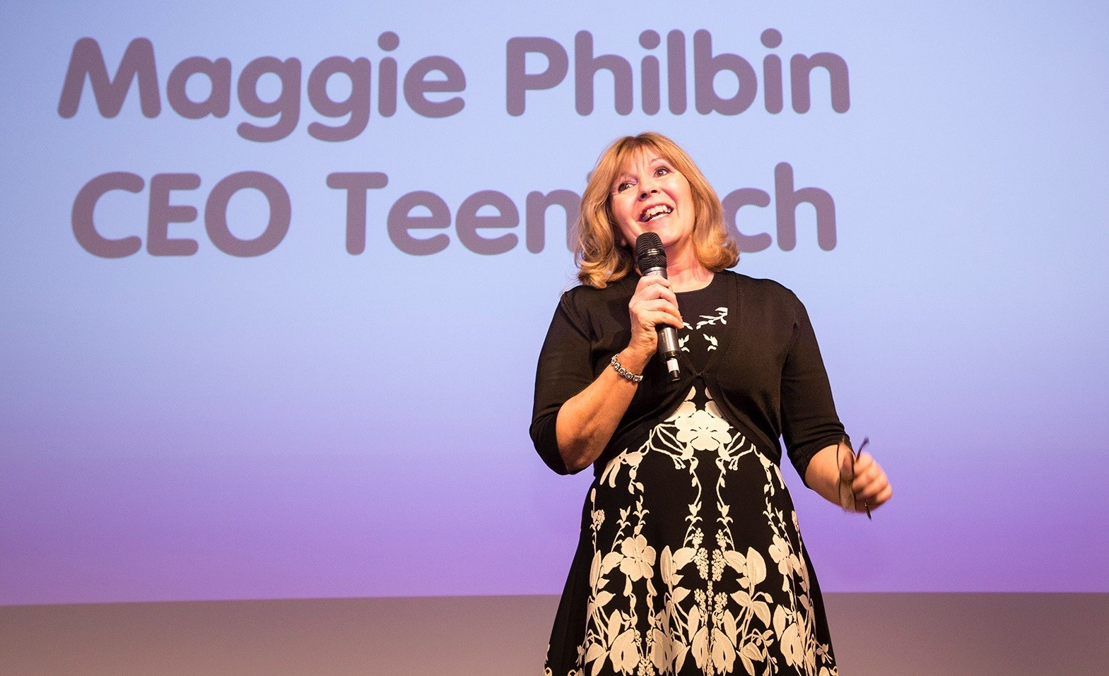 Maggie Philbin, TeenTech Event at MTI