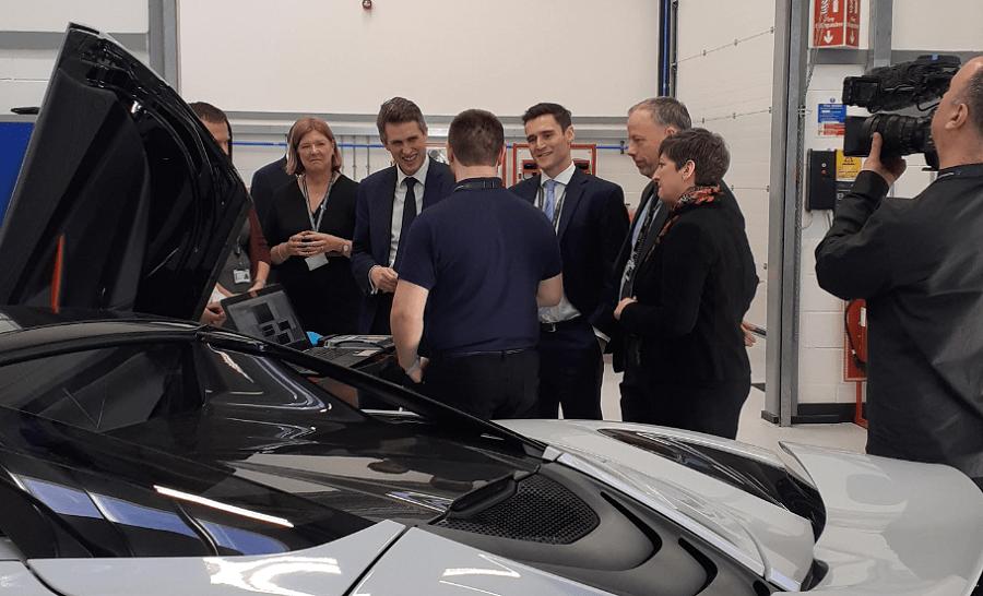 Gavin Williamson visits MTI