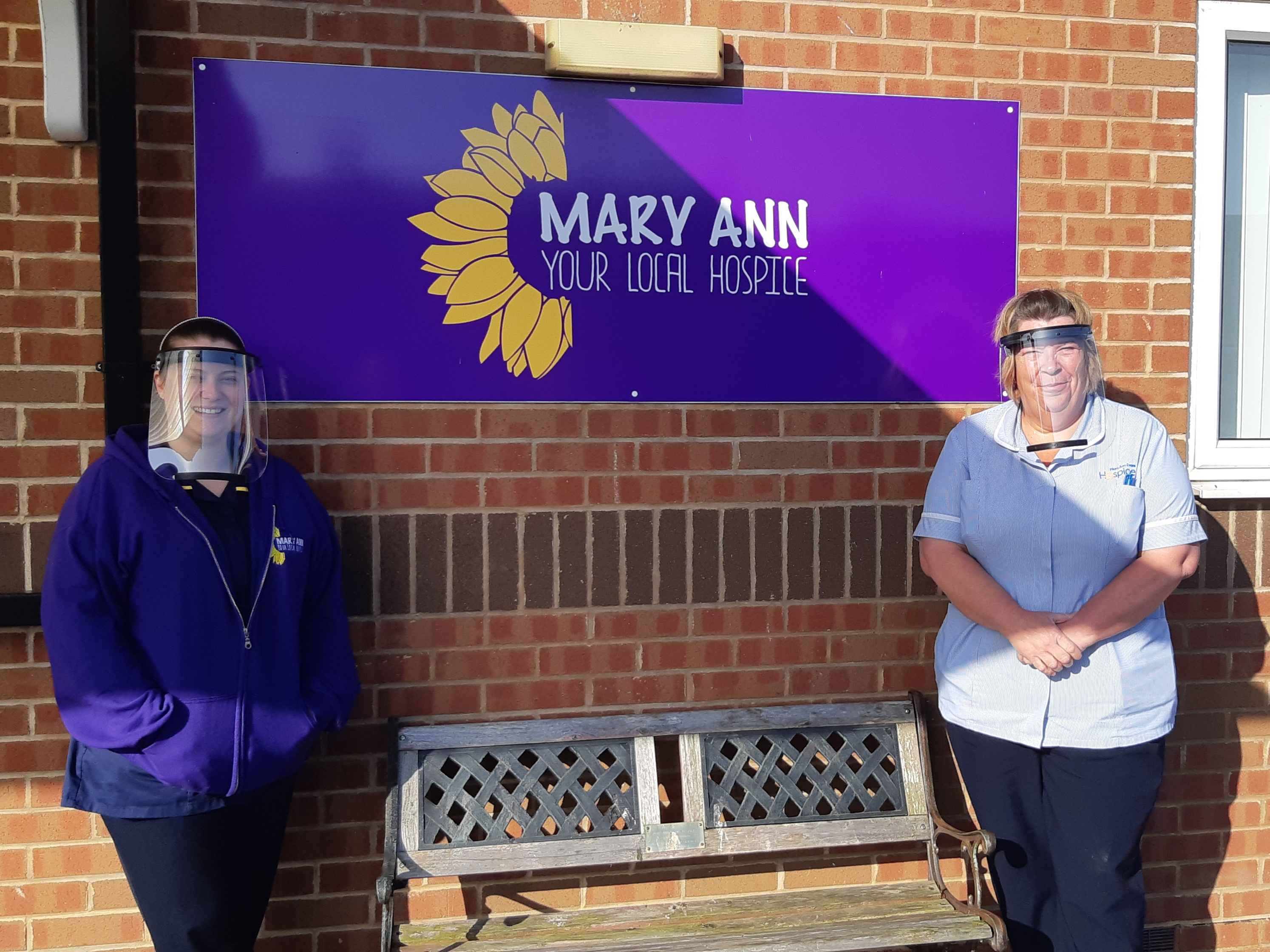 MTI makes visors for local care settings